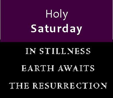 Holy Saturday 2018 Quotes Messages Images (5)