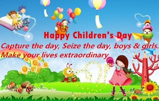Children's Day Slogans Children's Day Sayings (6)