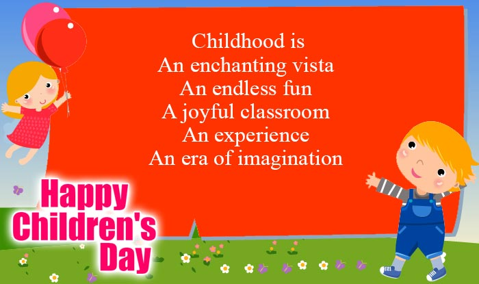 Children's Day Slogans Children's Day Sayings (8)