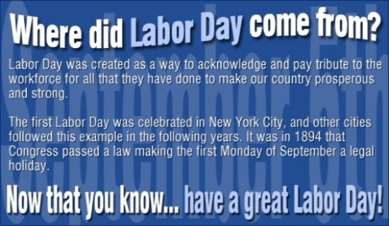 Labour Day 2018 History Origin Dates USA UK (8)