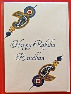 happy raksha bandhan greeting card
