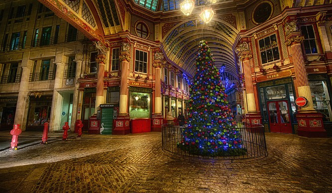 Christmas Day in london