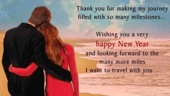 new year wishes for her