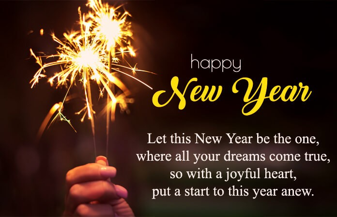 happy new year wishes images