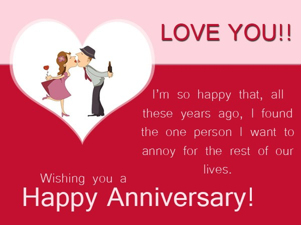 Wedding Anniversary Funny Quotes