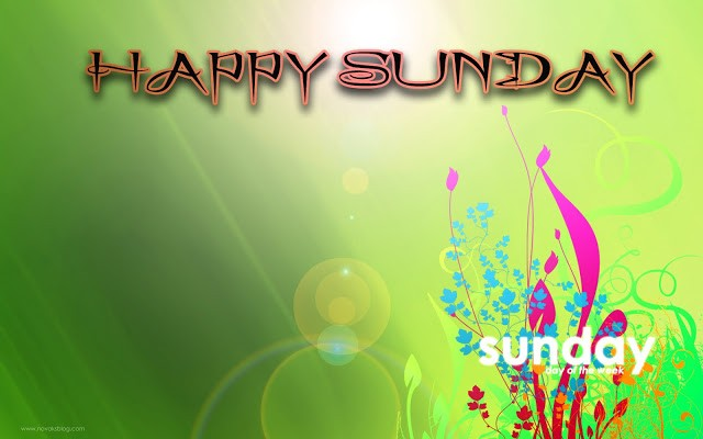 Happy Sunday Wallpapers HD