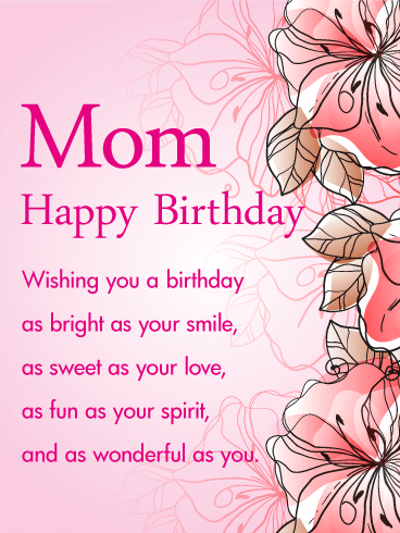 Happy Birthday Wishes And Messages For Mother