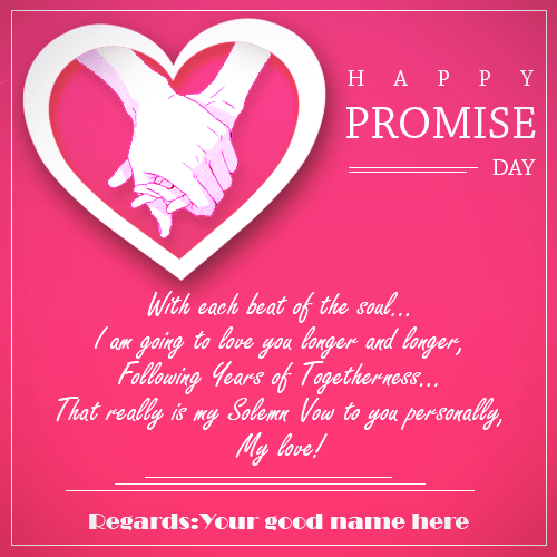 Happy Promise Day Wishes