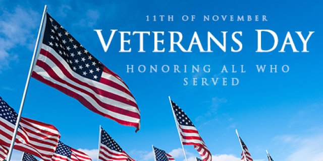 When Is Veterans Day