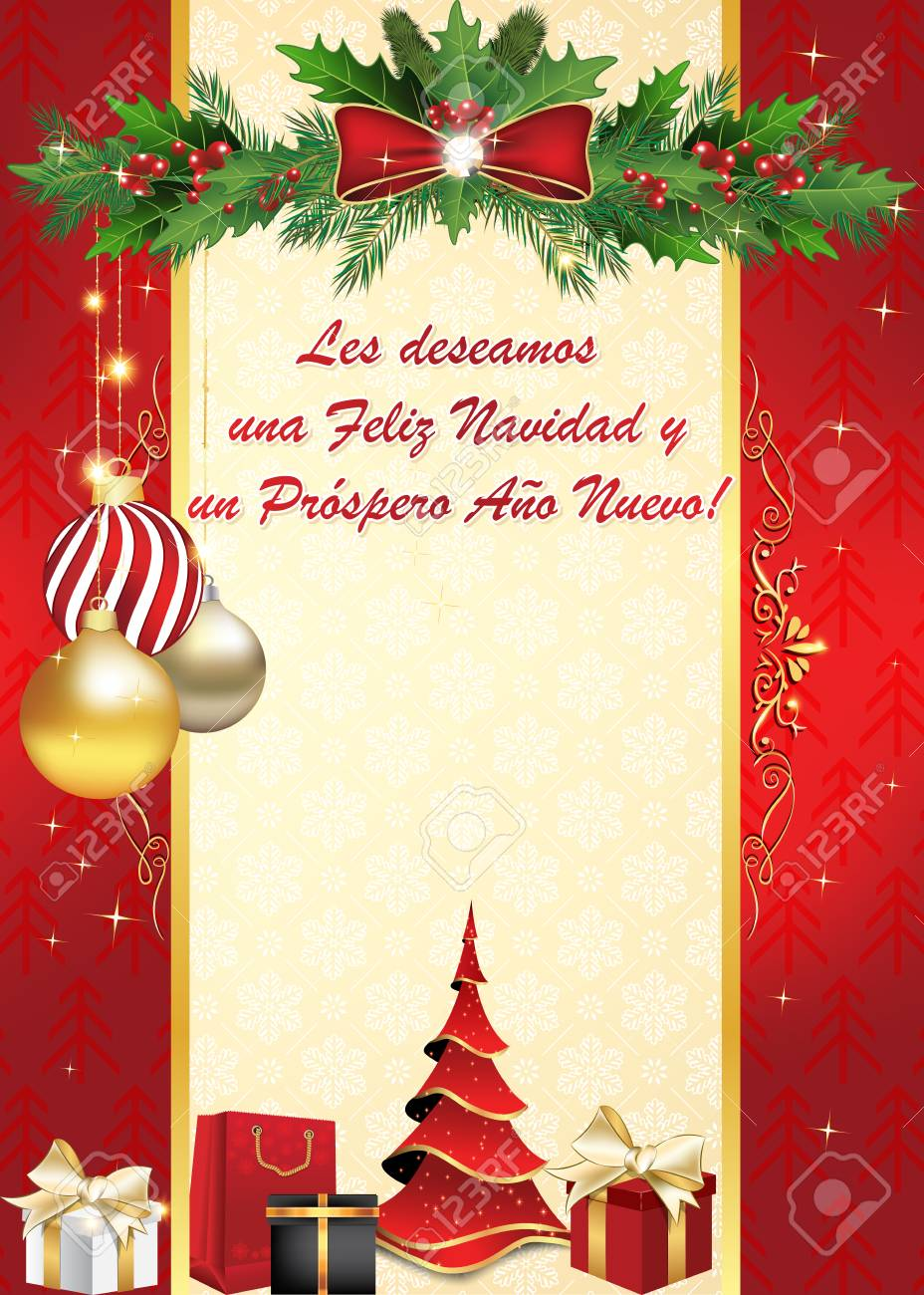 Merry Xmas Poems, Qoutes, Messages In Spanish