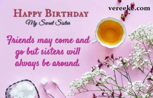 emotional birthday wishes for sister