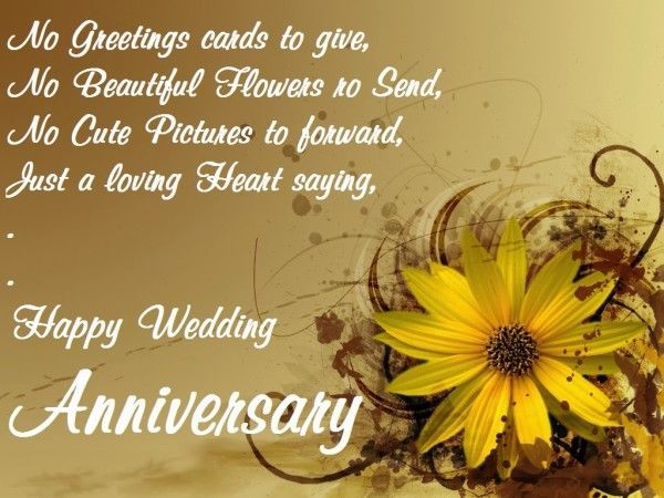 Wedding Anniversary Love Wishes