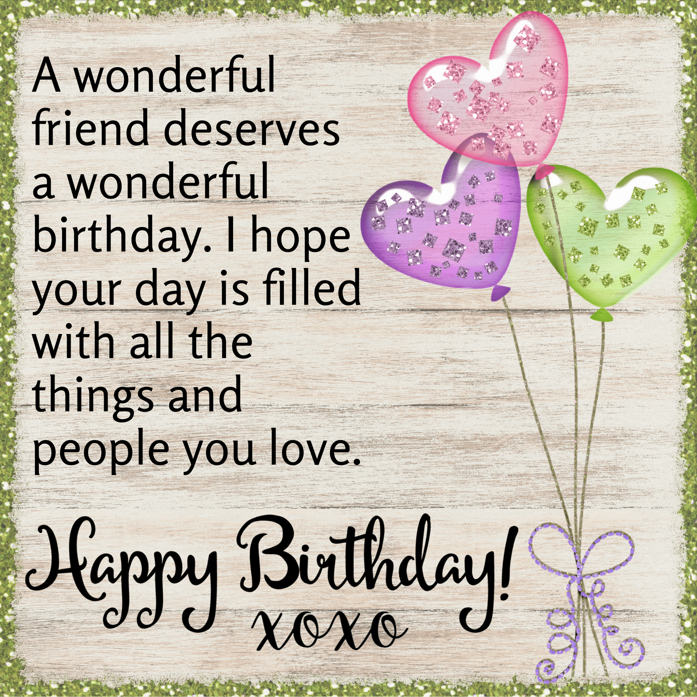 Simple Birthday Wishes for Friend