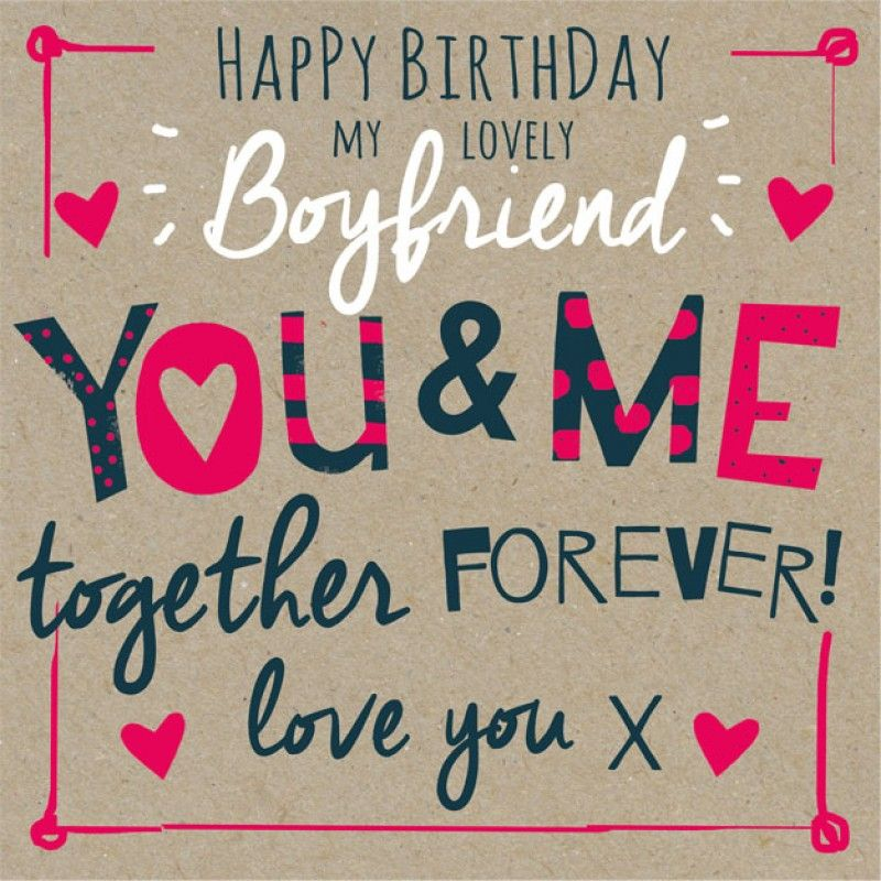 Long Birthday Wish for Boyfriend