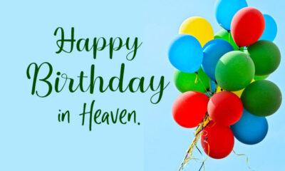 Happy Birthday in Heaven