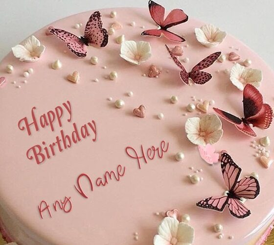 How to Make a Butterfly Birthday Cake