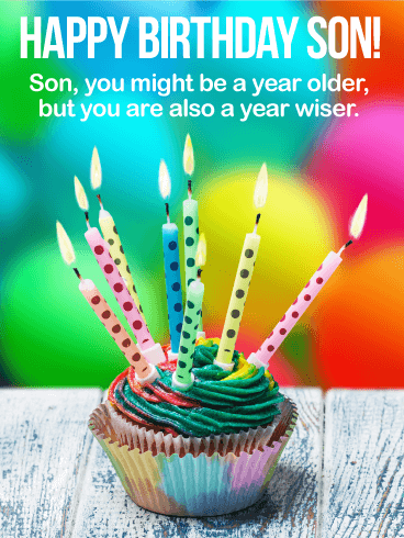 Sweet Birthday Message to My Stepson