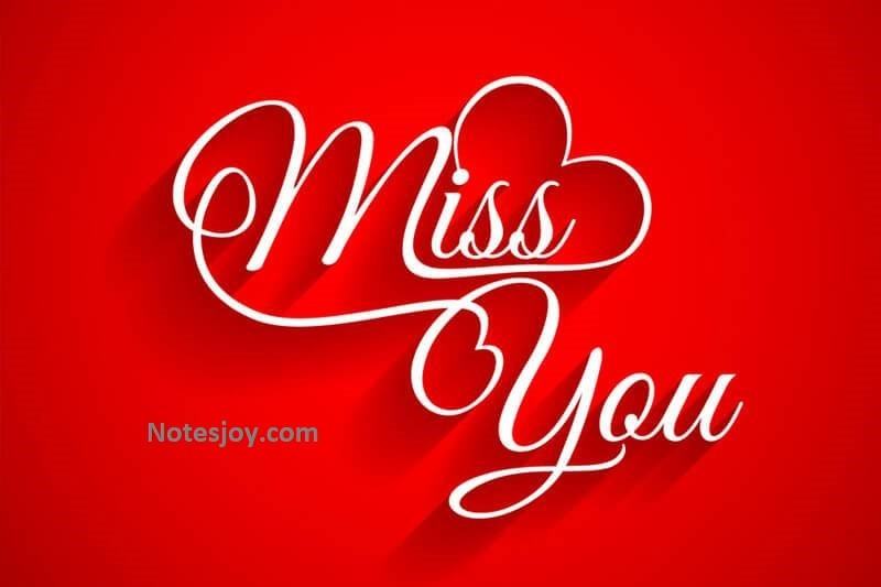 Sweet I Miss You Quotes for Her or Him