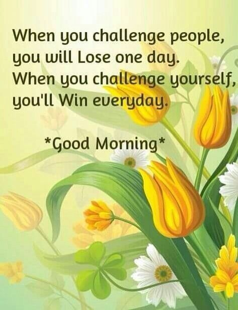 Positive Morning Message