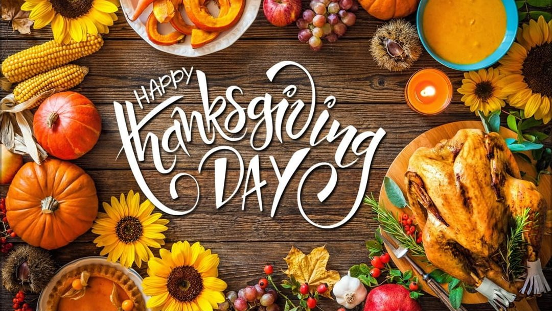 Thanksgiving Message to Team